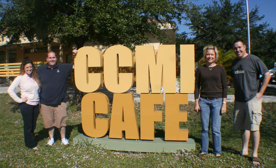 PTE team at CCMI