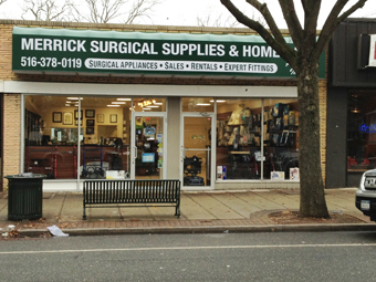 Merrick Surgical Supplies & Home Care Crutcheze New Dealer on Long Island