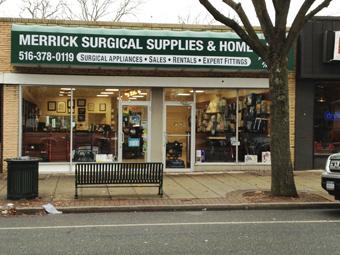 Merrick Surgical Supplies & Home Care Crutcheze New Dealer on Long Island
