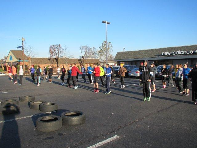 Thanksgiving Charity Workout, Cherry Hill, NJ Raised $1,086