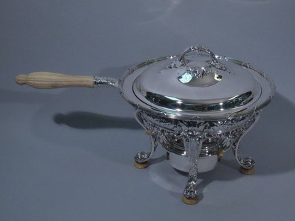 gorham american sterling silver chaffing dish 1903