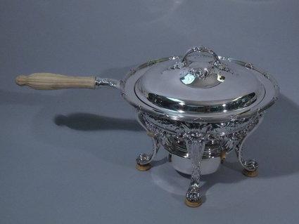 gorham american sterling silver chaffing dish 1903