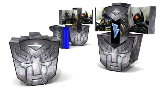 JohnsByrne company's winning package for Transformers 3-disc release