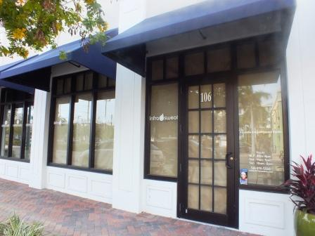 Infrasweat studio in City Walk at Pineapple Grove, Delray Beach