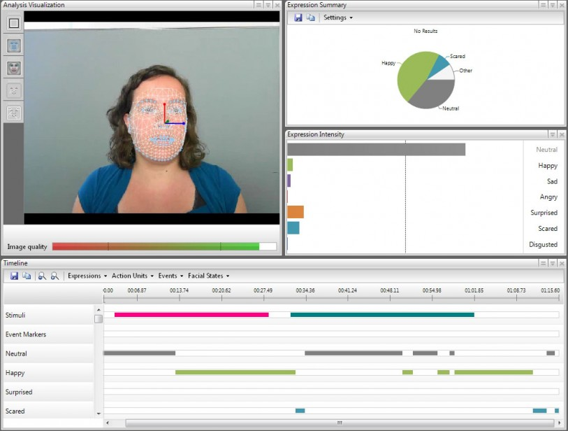 Overview analysis of FaceReader 5.0
