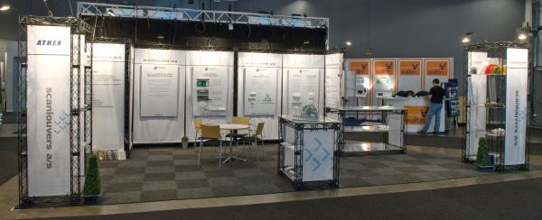 Exhibition Stand Hire from 200m2 Exhibition Stands