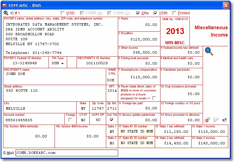 Account Ability 1098, 1099, 3921, 3922, 5498, W-2G and W-2 ...