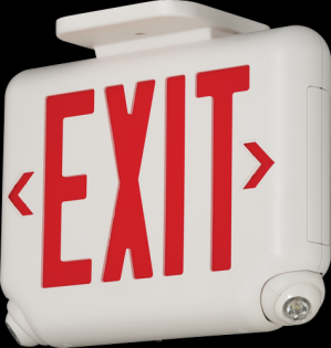 EVC Series from Dual-Lite - LED Combo Exit / Emergency Light
