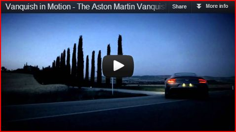 Article: Aston Martin Vanquish - Pure Sexy Adrenaline
