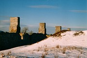 Fort Crown Point in Winter