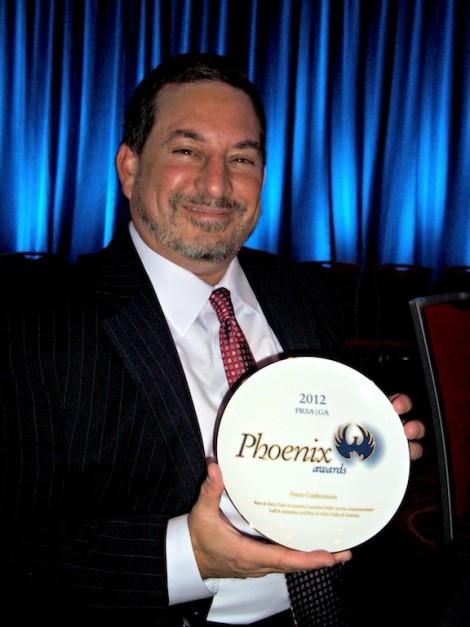 Mitch Leff Wins 2012 Phoenix Award