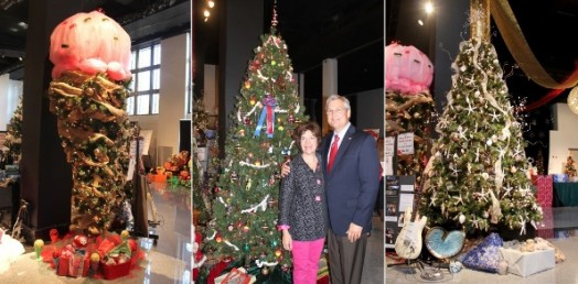 Most Creative, Mayor's Choice, Best All Around Winners at 2012 Festival of Trees