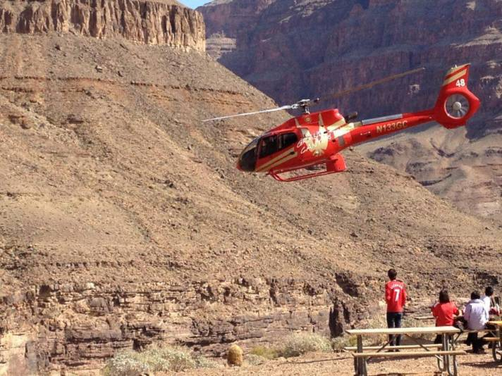 Grand Canyon Bottom Landing