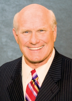 Terry Bradshaw, keynote speaker at the 2012 VIPAR HD Annual Business Conference