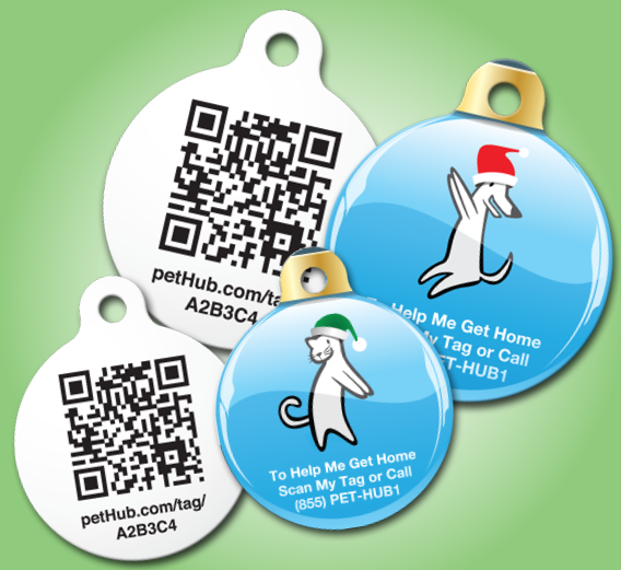 PetHub's stainless steel, polymer coated tags free with upgrade until 12/15/2012