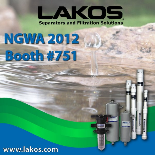 LAKOS is exhibiting at NGWA in booth 751