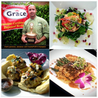 Chef Lawrence Males-Grace Jamaican Jerk Festival 2012