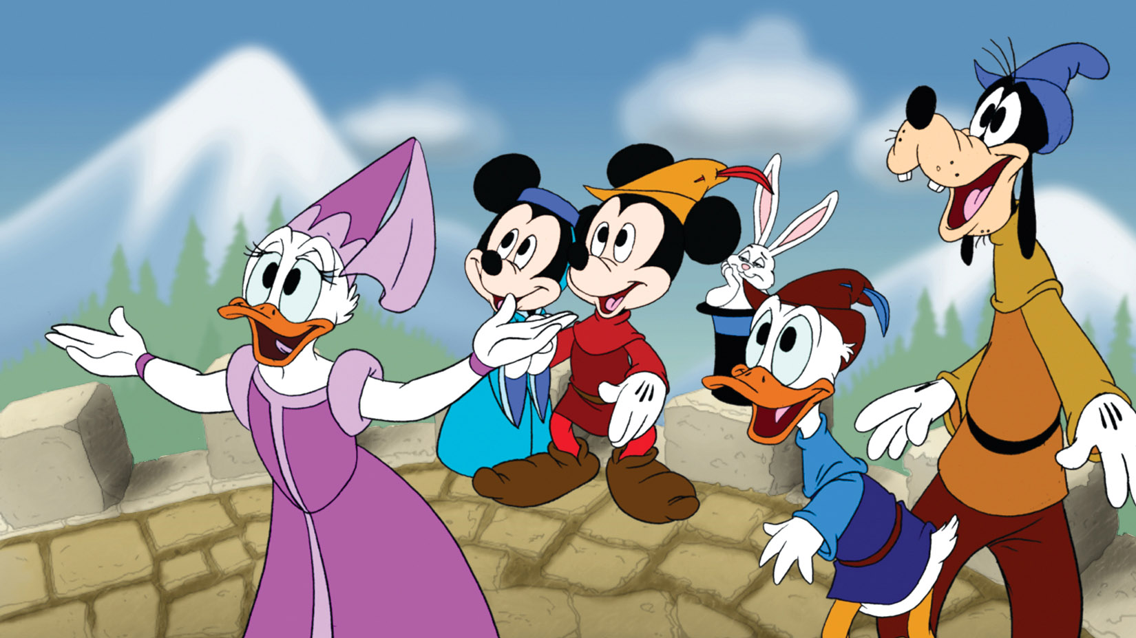 Help Mickey's friends solve the mysterious enchantment in Typelandia.