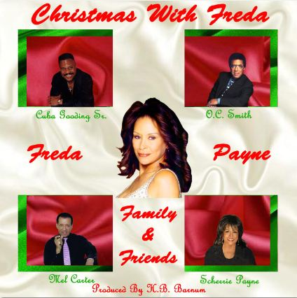 Freda Payne and Friends Christmas CD