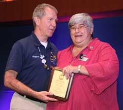 Eugene Wood Receives AMTA Meritorious Award