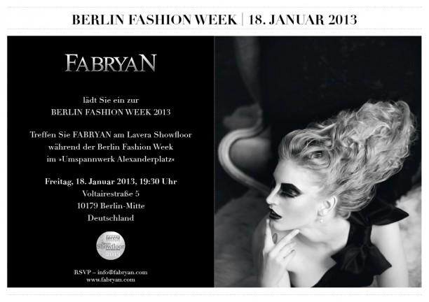 Fabryan- Berlin Fashion week