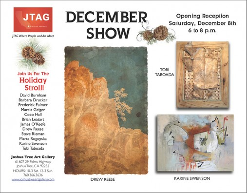 JTAG Dec.8th Opening