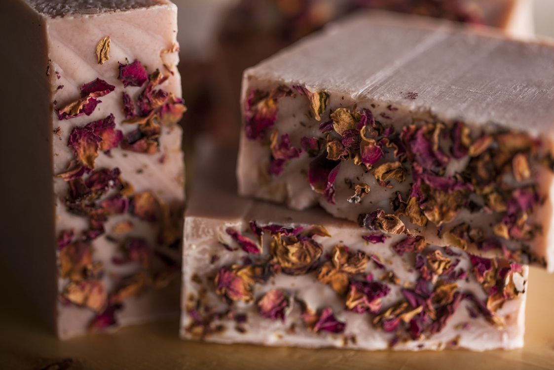 Natural Milky Rose Soap by Osmia Organics