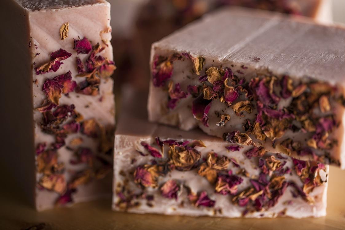Natural Milky Rose Soap by Osmia Organics