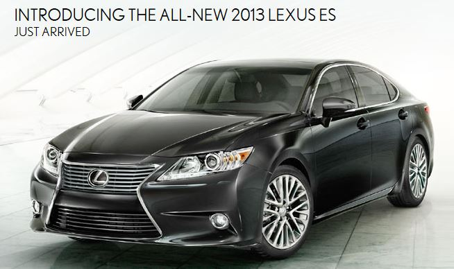 2013 Lexus ES at Lexus of Melbourne