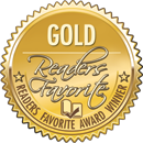 Readers Favorite Gold