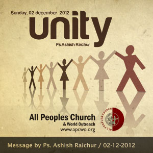 For Video / Audio / PDF resources of this sermon visit our website www.apcwo.org