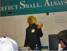 Marshall Barnes Lecturing at Grandview Heights HS Copyright 2012