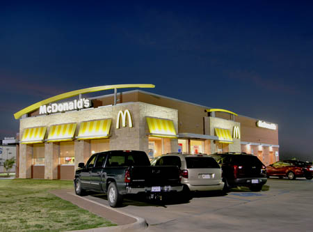 McDonald's at 1423 Southwest Parkway in Wichita Falls, TX.
