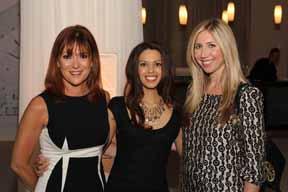 Paula Pianta, Elizabeth Finearty and Kelli-Ann McLeod.