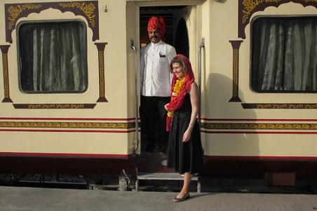 Welcome to palace on wheels train