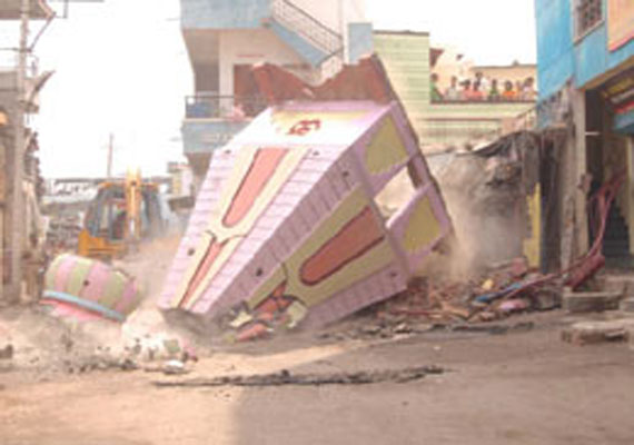 Shri Rama Pir Mandir demolished