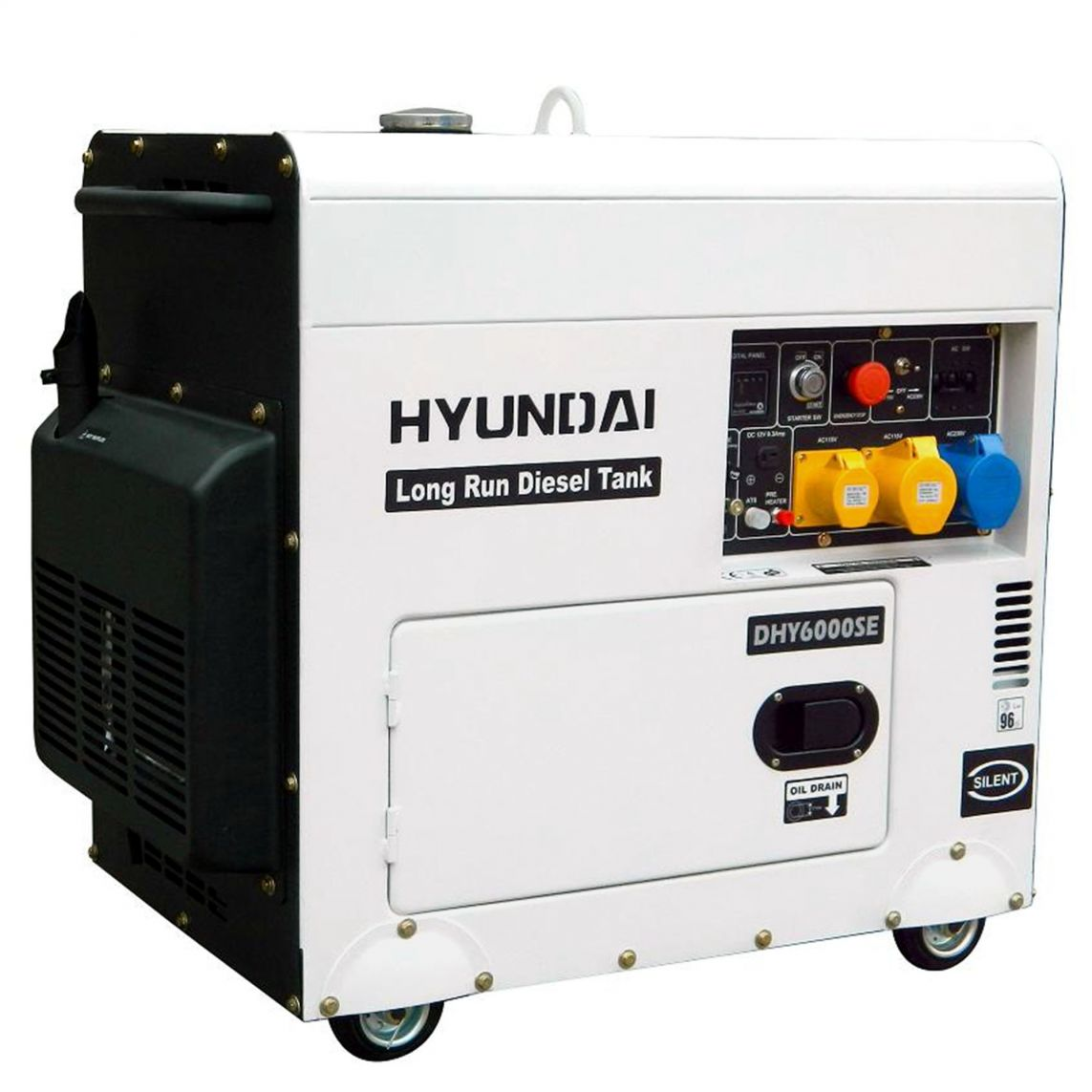 Hyundai DHY6000SELR Diesel Generator