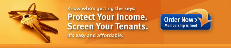 Tenant Screening Now, Tenant Credit Reports, Tenant Credit History