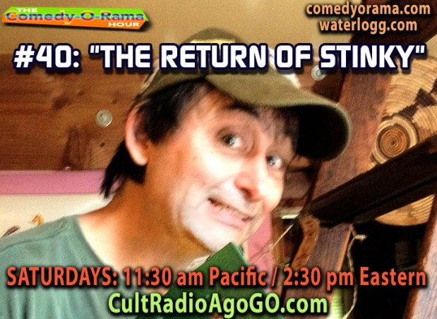 100th Comedy-O-Rama Saturday 2:30 pm ET - listen online free cultradioagogo.com
