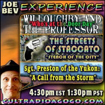 Saturday, December 8 at 4:30 pm ET on cultradioagogo.com