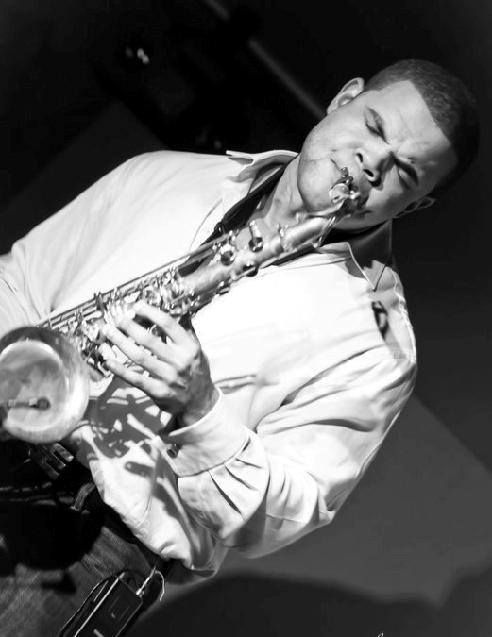 Saxophonist Brandon Primus