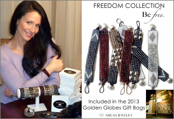 """Danielle King of Abrau Jewelry with """"Freedom Collection"""""""
