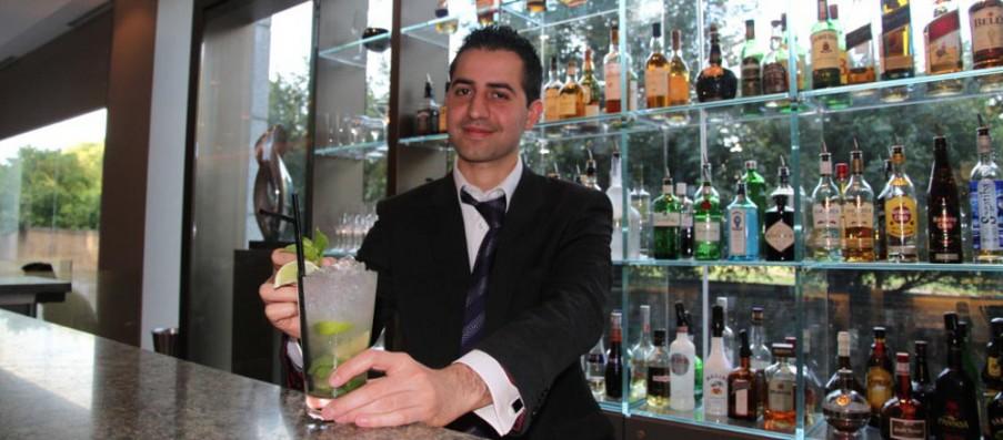 Boss Behind The Bar at The Royal Garden Hotel