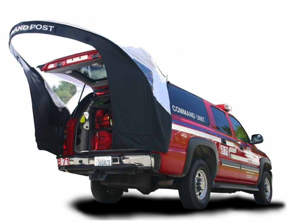 Liftgate First Responder Tailgate Canopy-Bumperchute
