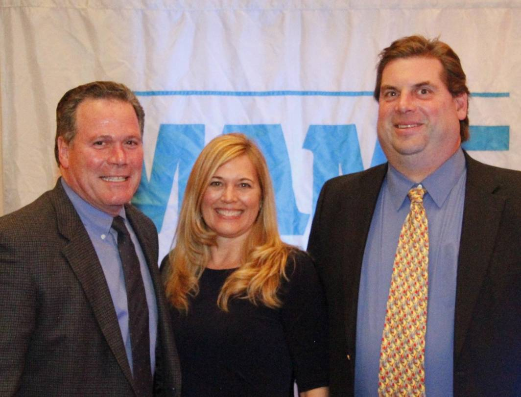 Jay & CIndy Cipriani & Jim Musser at the 2012 MAME Awards