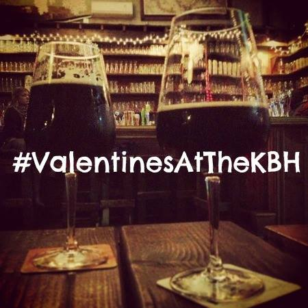Valentines Day for Beer Lovers at KBH