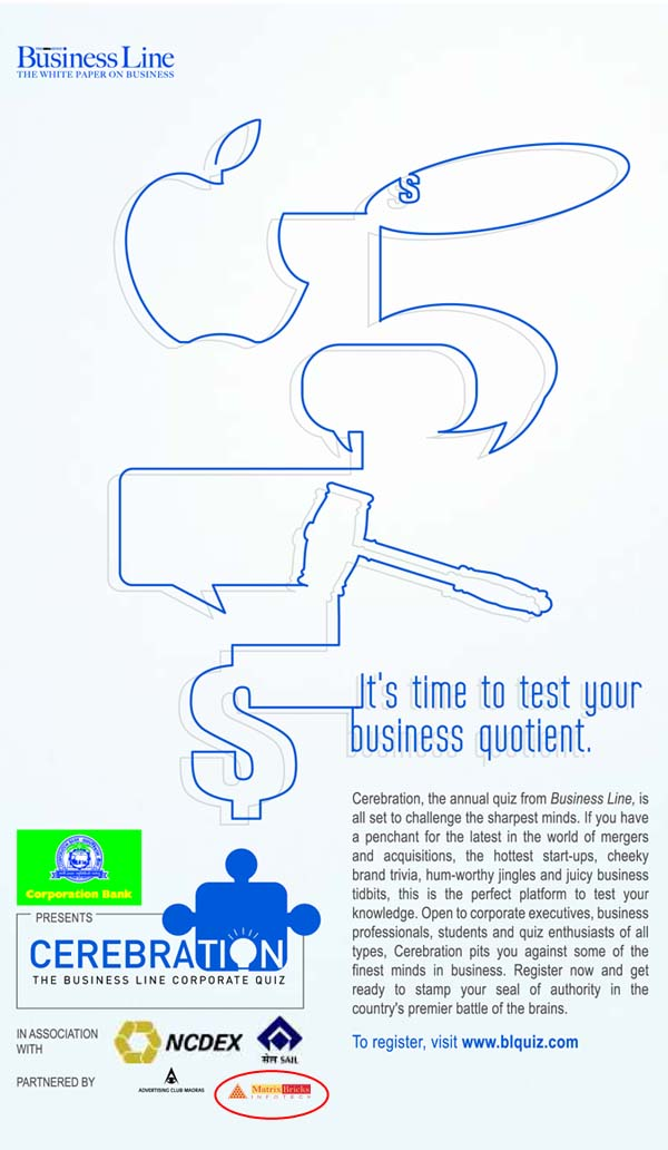 Matrix Bricks Infotech's logo has appeared in The Business
