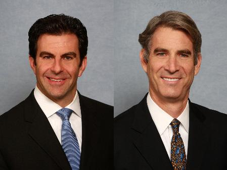 Joe Cicardo and Paul Stevenson