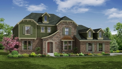 French Country influenced Meritage home