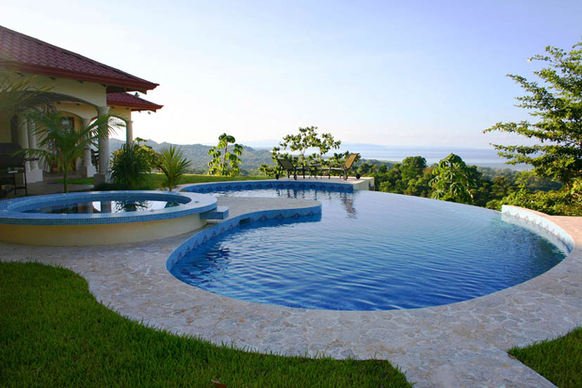 One of our Custom Homes with Ocean View in Costa Rica